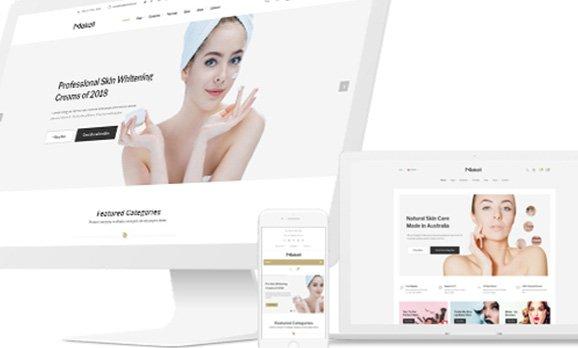 Beauty Centre website design / 香港醫學美容網站設計